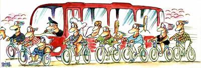 Con bicicletas