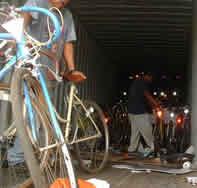 Contenedor de bicicletas