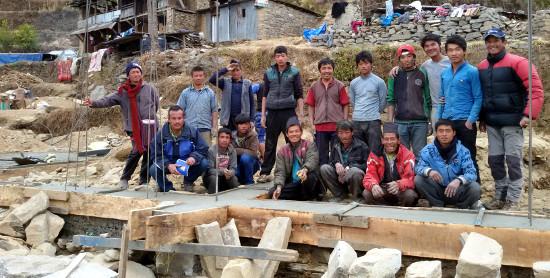Reconstrucción terremoto Nepal Nicaragua Escuela