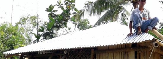 Reconstrucción Filipinas Tifón