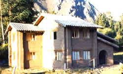 Casa de Adobe en Ecuador