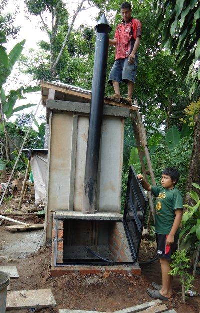 Inodoros secos en El Salvador