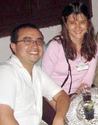 César Reyes y Rosana Gaggino
