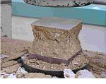 Bloques prensados de tierra resistentes a la humedad