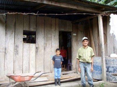 Casa vieja en Sitio Histórico