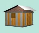 Núcleo básico de vivienda con Paneles de FerroCemento