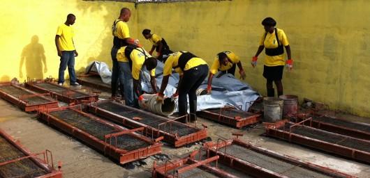 La reconstrucción de Haití con paneles de ferrocemento para casas y vivienda social