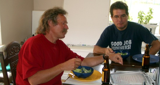 Kurt Rhyner (I) y Fernando Martirena (D)