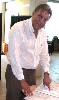 Arquitecto Vicente Muñoz, gerente de Cúspide S.A.