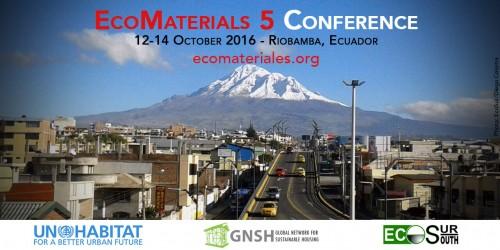 Quinta Conferencia Internacional EcoMateriales