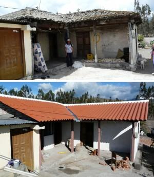 Rehabilitación participativa del hábitat en Chingazo, cantón Guano, provincia de Chimborazo, Ecuador
